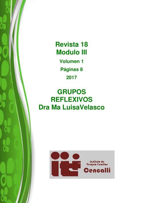 REvista 18 bis Grupos reflexivos julio 2017