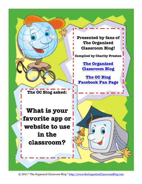 Internet Favorite Classroom Websites Books