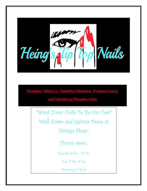 Heing's Tip Top Nails