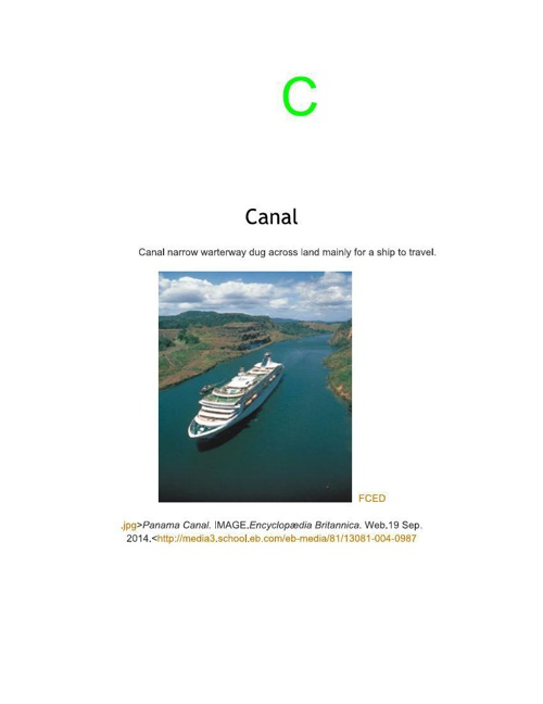 Mrs Carlson's Class Landforms Book