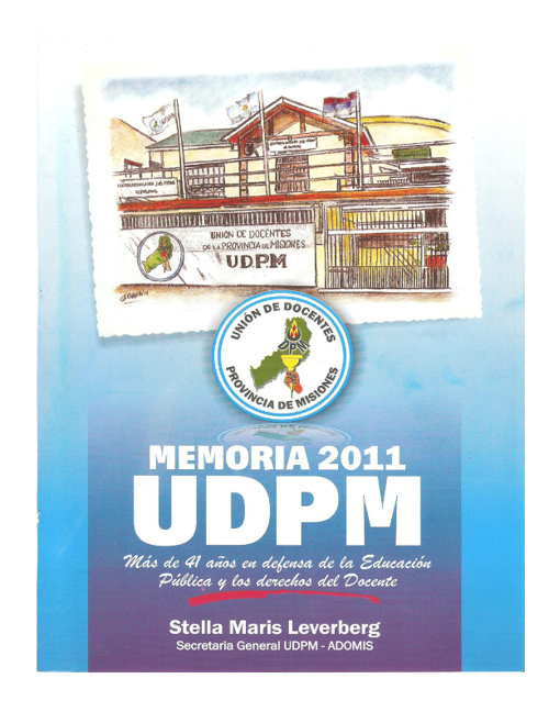 Memoria 2011 - U.D.P.M.