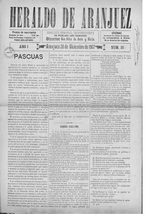 El Heraldo 1907