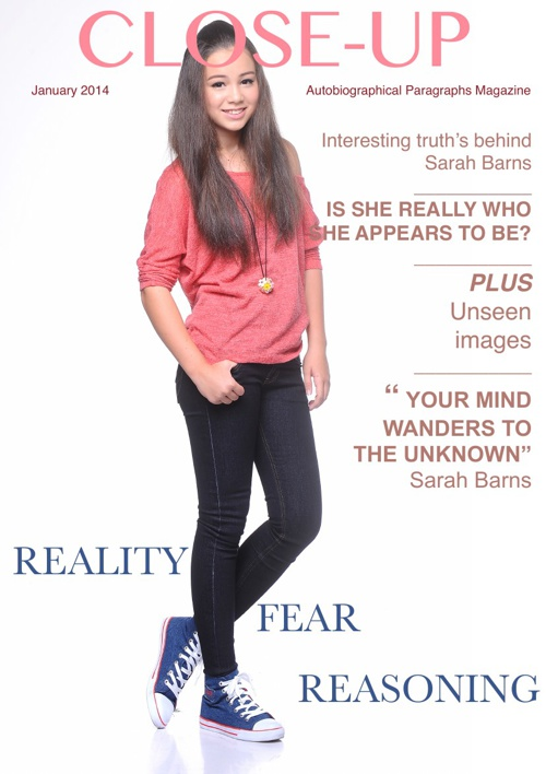 Magazine About Me - Sarah Barns - 8-1
