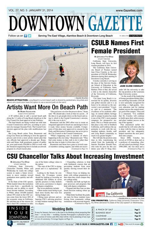 Downtown Gazette  |  January 31, 2014
