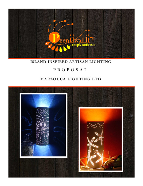 Proposal for Distributorship and Catalog for Marzouca Lighting
