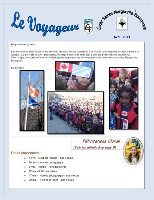 Le Voyageur 2013