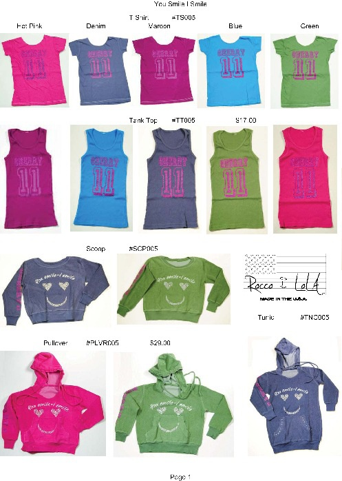 Rocco & LoLA™ | Girls Sweats Children Collection