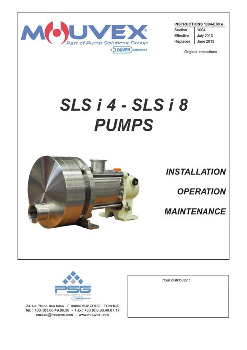Mouvex SLSi4 & SLSi8 Installation