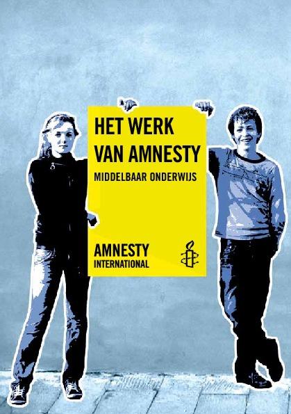 informatieboekje Het werk van Amnesty