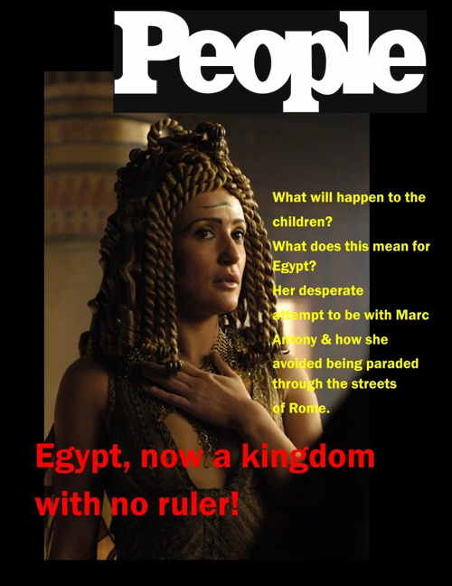 Cleopatra Article- Hegeman