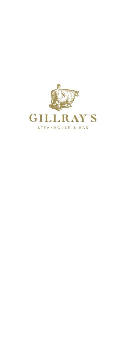 Gillray's Bar Drinks Menu - Oct 13
