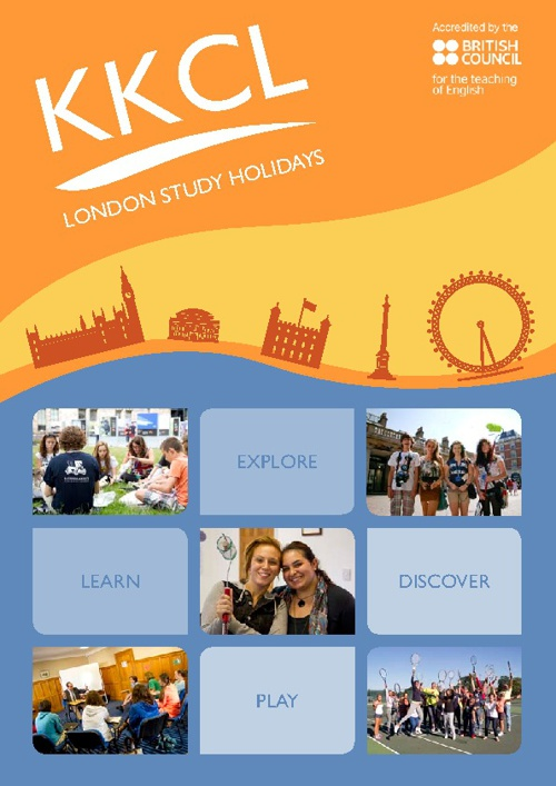 KKCL London Study Holidays Brochure