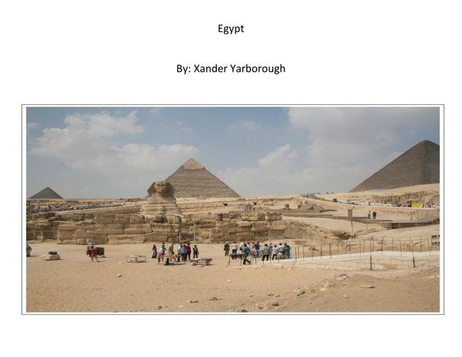 Xander - Egypt