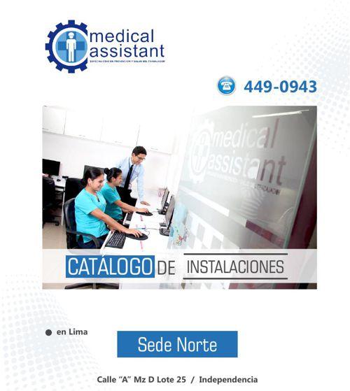 Catálogo Medical Assistant (sede norte)