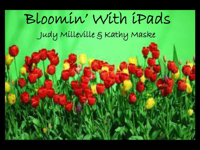 Bloomin with iPads-Flipsnack version