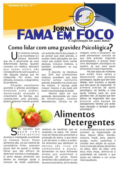 Jornal FAMA em FOCO