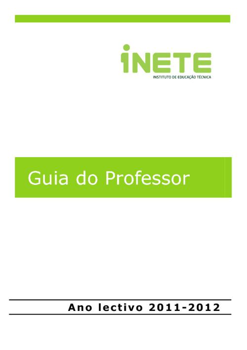 Guia do Professor 2011-2012_Versão Reunião