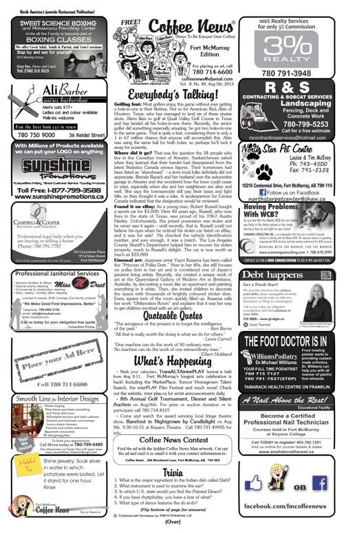 Coffee News - 05 August 2013