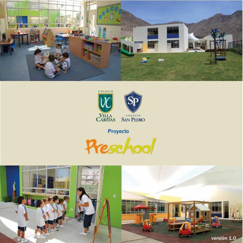 Folleto proyecto preschool 2014