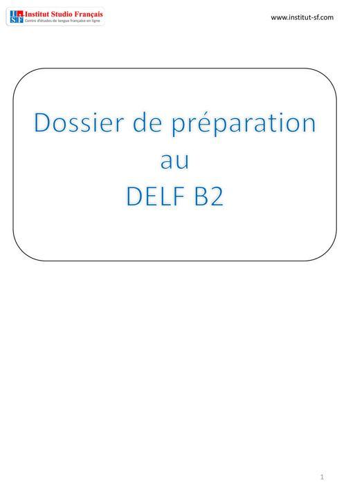 ISF - DELF B2 Livre