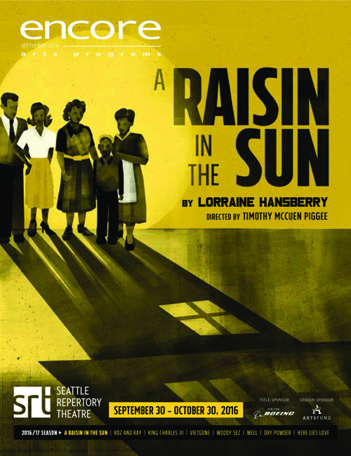 A Raisin in the Sun show program