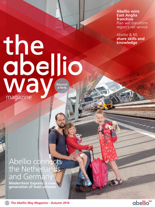 The Abellio Way Magazine - Autumn 2016 - English