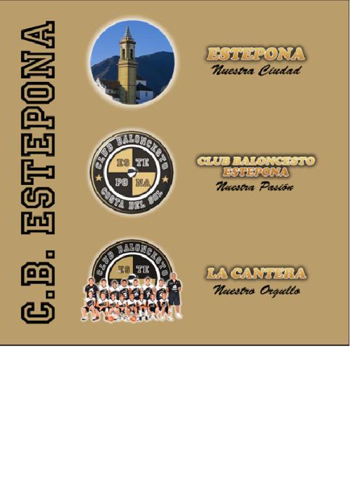 Dossier Publicidad Club Baloncesto Estepona 2012/13