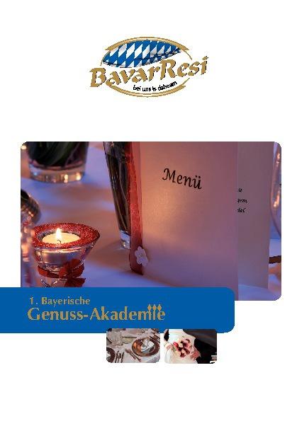 BavarResi Menü-Preis-Katalog