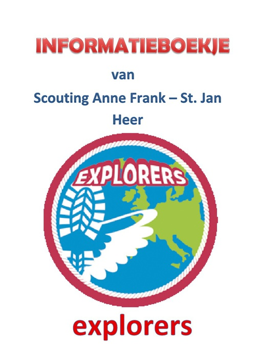 Infoboekje Explorers 600