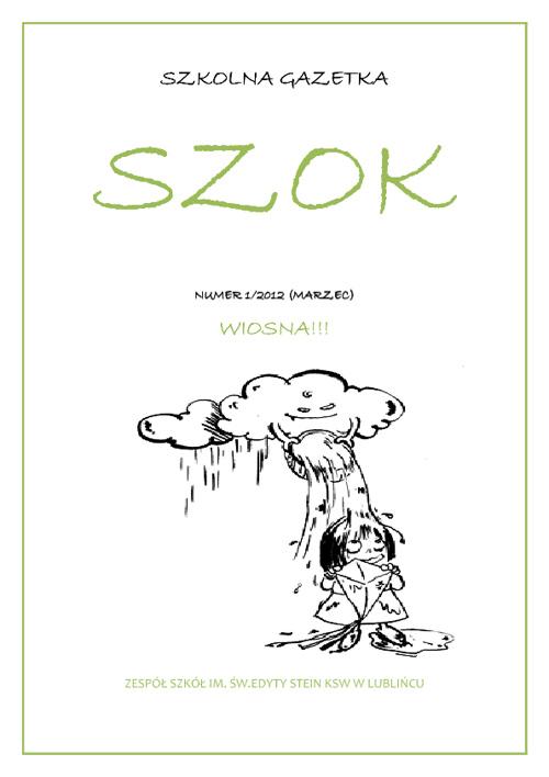 Gazetka Szkolna: SZKOK: 1/2012 (2)