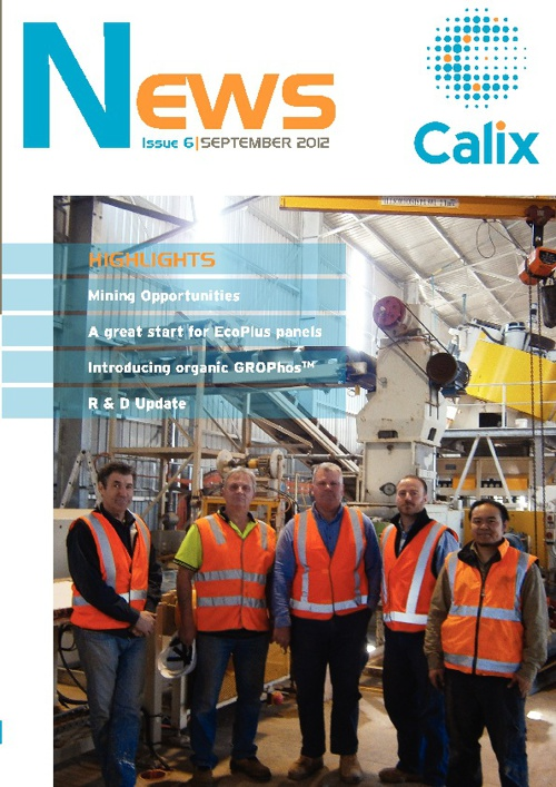 Calix News September 2012 - Issue 6