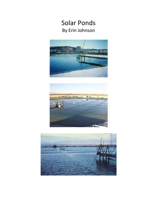 Alternative Energy Technology: Solar Ponds