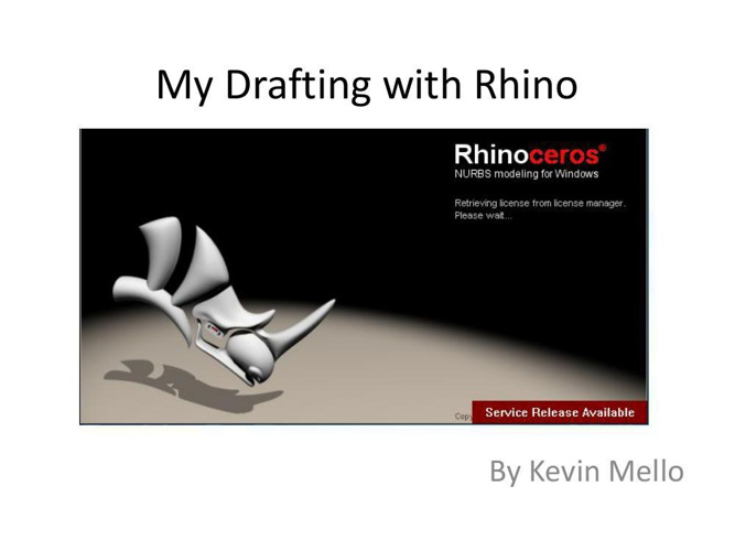 My Drafting with Rhino