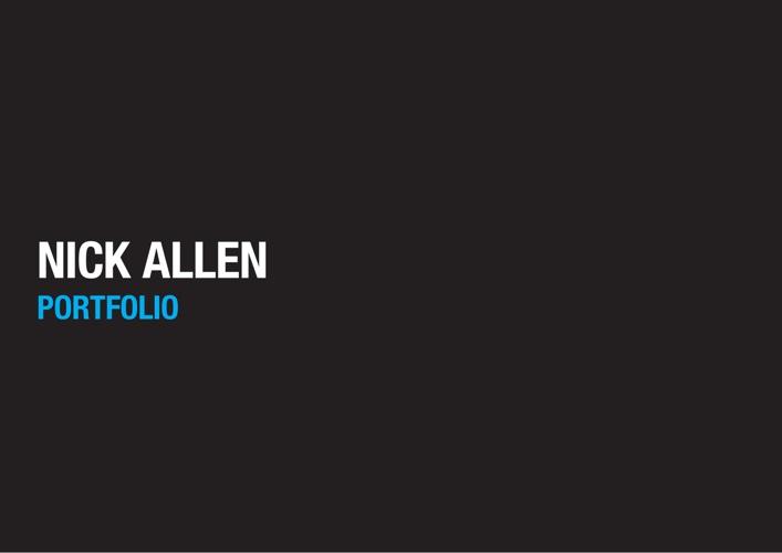 Nick Allen Portfolio