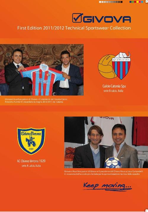 Givova catalog 2011/2012