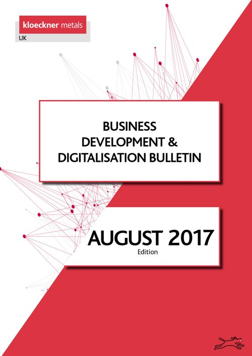 Business Development Bulletin August