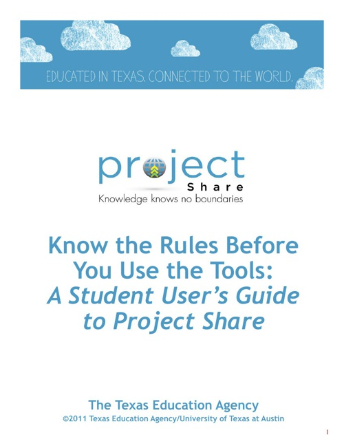 Project Share Student Guide