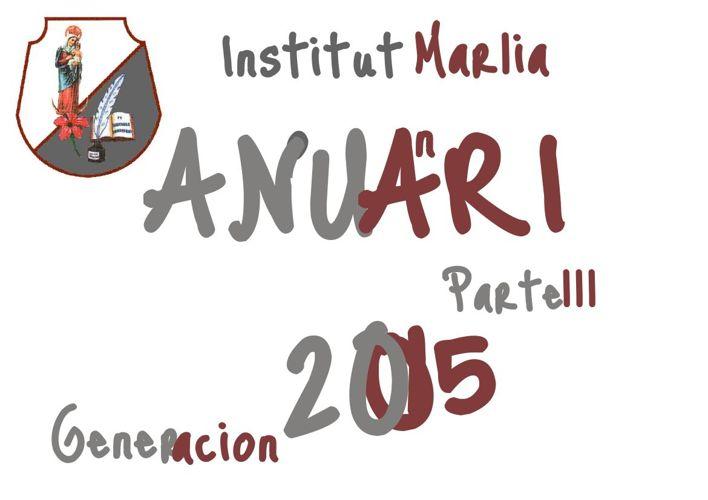 Anuario Generación 2015 Tercera parte