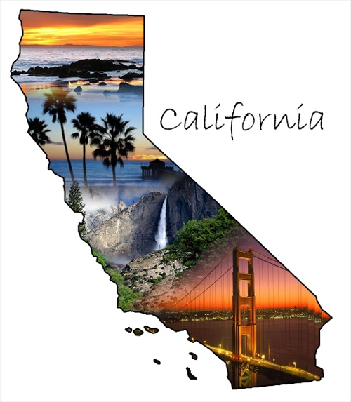 The Great State of California!
