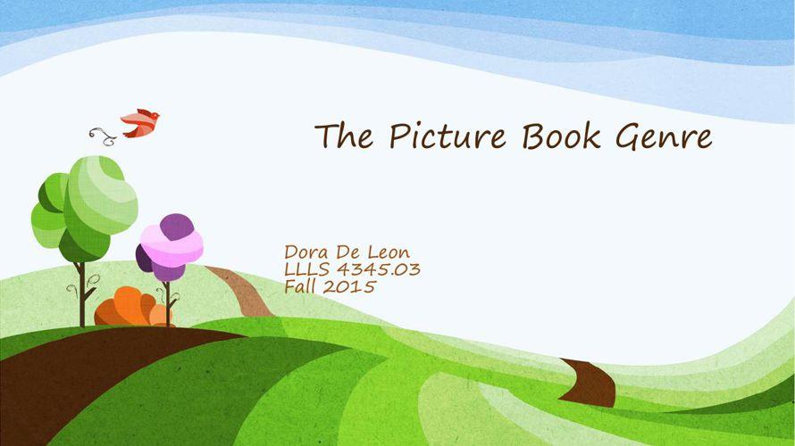 Dora De Leon Picture Book 1