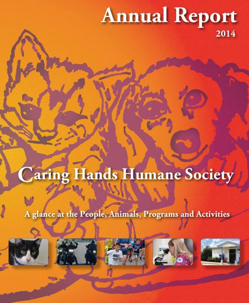 Annual Report Caring Hands Humane Society