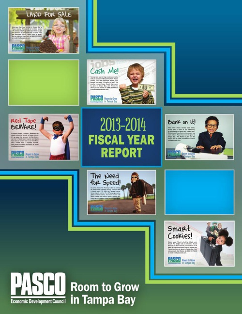 Pasco Economic Development Council's  2013-14 Fiscal Year Report