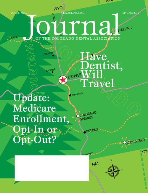 Spring 2016 Journal of the Colorado Dental Association