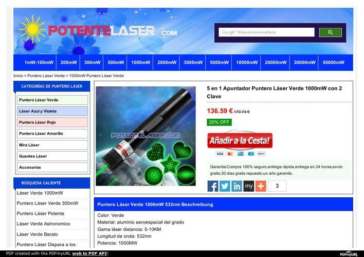 Puntero Laser