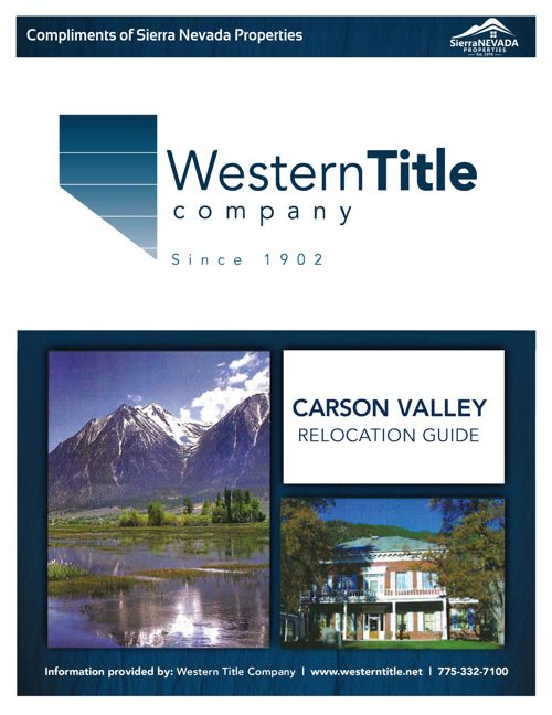 Carson Valley Relocation Guide