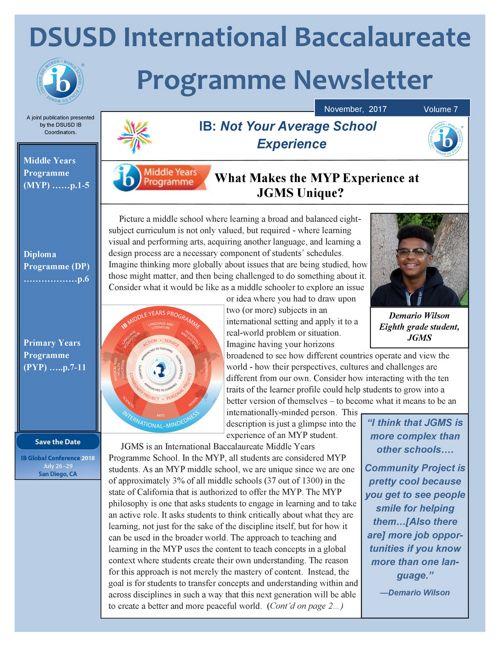 IB Newsletter Vol 7