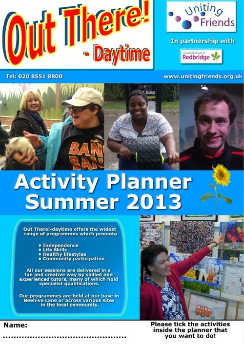 Planner Summer 2013