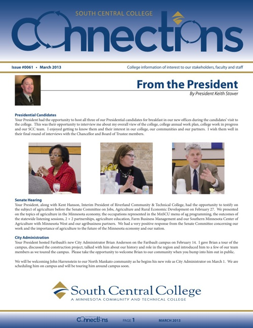 March 2013 Connections Newsletter
