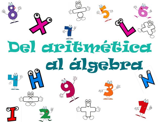 Del aritmetica al algebra
