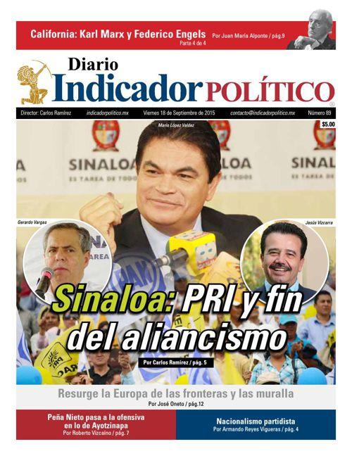 Diario Indicador Político número 89